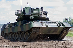 """""""Follow me"""" (Connor Querin) Tags: ontario regiment museum oshawa tank tanks vehicle armour armor tonne canada military leopard 1a5 tracked mbt afv german kmw deutsch"""