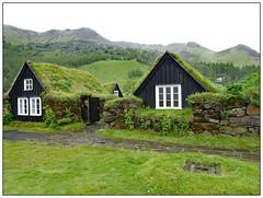 The Green Green Grass of Home (donbyatt) Tags: iceland landscape skogar folkmuseum tradition houses grassroof