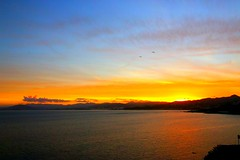 2017-07-15 21.04.01 (anyera2015) Tags: ceuta canon canon70d atardecer nubes siluetas nublado sol playa mar