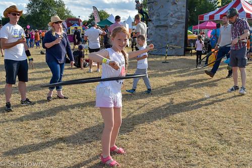 crowds at vicar's picnic 2017