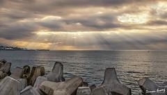 富岡漁港 (x7788694) Tags: 750d canon 台灣 taiwan taitung hualien photography sunset galaxy 雲 天空 戶外 安詳 台東 sky 耶穌光 日出
