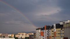 Colours after the rain (borisvasilev) Tags: rainbow sofia city urban bulgaria digitalphotography europe travelolympus travel olympus borissnima