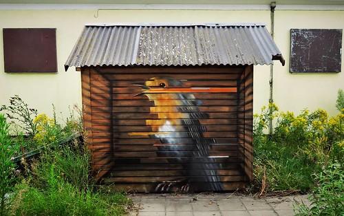 Free the #birds / #Art by #CeePil. #Gent #Belgium #streetart #graffiti #streetartbel #streetart_daily #urbanart #urbanart_daily #graffitiart_daily #graffitiart #streetarteverywhere #mural #wallart #gentje #gantoise #visitgent #ilovestreetart #igersstreeta