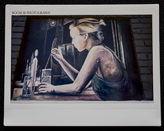 Mural (Instax Wide film) (Room 111) Tags: streetart mural elpaso fujifilm instax wide 300