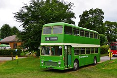 Preserved Southern Vectis 721 OFS307G (South West Transport News) Tags: preserved southern vectis 721 ofs307g