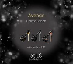 Limited Edition: 100 pieces of these shoes ([Avenge]) Tags: avenge sexyshoes dancershoes sexymules originalmesh l8 limit8 limitededition
