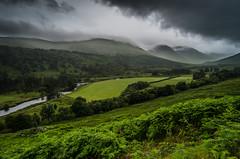 Glen Lyon (daedmike) Tags: scotland glenlyon hills mist fog clouds perth kinross stream burn river