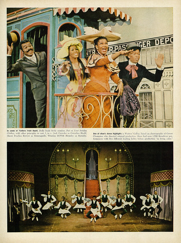 All-Black Cast, 1967 Broadway Musical Production of 'Hello, Dolly!' Starring Pearl Bailey & Cab Calloway (part 3 of 6)