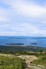 Acadia National Park, Maine (sheldonannphotography) Tags: cadillac mountain bar harbor mount desert island maine acadia national park nature landscape mountains sky clouds trees cliff hiking canon islands evergreen