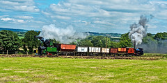 foxfield bank (midcheshireman) Tags: steam staffordshire train locomotive foxfield foxfieldcolliery industrial