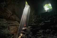 STEPHENS GAP CAVE (Billy Heath III) Tags: cave caves stephens gap natural light beams rays southeastern conservancy inc pedastel underground explore wander travel alabama al huge cavern wilderness nature