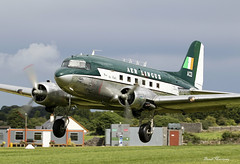 Springbok Classic Air Aer Lingus Retro livery) C-47A (DC-3) ZS-NTE (birrlad) Tags: birr airfield eibr ormond flying club aerodrome offaly ireland aircraft aviation airplane airplanes classic rare realaircraft zsnte douglas dc3 c47 c47a prop flypast flyby flyover display springbok air aerlingus retro livery colour scheme decals titles airshow dak