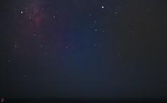 Fade Away. (Gavin Minera) Tags: nature canon stars night longexposure shore beach dark color unreal dream imagine