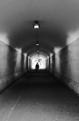 one man (life begins with 4t) Tags: 4t art travel photography australia sydney haymarket centralstation fortunatocsuarezjr fortisuarez 4tsuarez tunnel blackandwhitephotography samelifedifferentoutfit