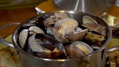 Bucket of Steamers - Clams & Mussels (Pat Durkin OC) Tags: food seafood clams steamers mussels