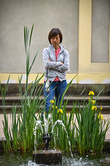 Prague garden (jmarnaud) Tags: czech prague 2017 summer garden statue walk mala strana akiko