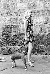 P1130334 (Francesco Pala) Tags: siena italy street candid dog girl