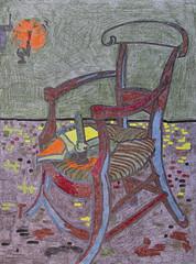 Le fauteuil de Paul Gauguin - Van Gogh - 1888_0 (Luc II) Tags: vangogh paulgauguin