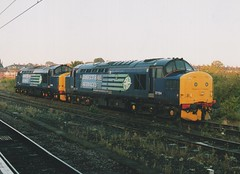 """Direct Rail Services 'Compass' Class 37/'s, 37194 & 37688 """"Kingmoor TMD"""" (37190 """"Dalzell"""") Tags: drs directrailservices compass ee englishelectric type3 growler tractor class37 class370 class375 37194 d6894 37688 kingmoortmd 37205 d6905 york"""