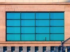 Windows (Karen_Chappell) Tags: therooms window architecture building stjohns newfoundland nfld blue brick geometry geometric rectangle square shape abstract