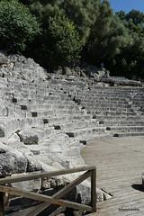 0014 Shrine of Asclepius, Theatre, Butrint (2) (tobeytravels) Tags: albania butrint buthrotum illyrian shrine asclepius temple theatre