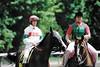 Jockey Pat Day (Shot by Newman) Tags: patday jockey outrider nyra horses saratogaracecourse saratogany shotbynewman fujifilm 35mm fuji400 daylight