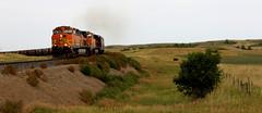 D91A9647 (Laurence's Pictures) Tags: bnsf bismarck north dakota burlington northern santa fe diesel locomotive coal train rail railway railroad ransportation freight