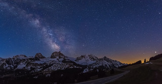 Milky Way over Gantrisch