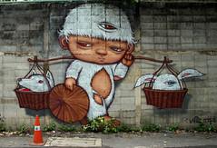 graffiti and streetart in bangkok (wojofoto) Tags: graffiti streetart bangkok thailand wojofoto wolfgangjosten alexface mural