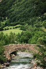 Puente en Gavarnie (boni_villasirga) Tags: paisaje landscape pirineo pirineos pyrenees verde green puente bridge nature naturaleza gavarnie francia france montaña mountain rio river paseo senderismo hike walk vertical
