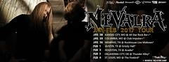 """NEVALRA Jan-Feb 2017 """"Thrash to the Grave Tour"""" (Nevalra) Tags: nevalra tour scott eames sprock bc rich bcrich"""