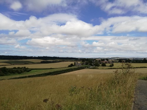 Branxton from The Flodden Monument, July 2017