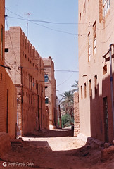 199909 Yemen Hadramaut (60) Tarim (Nikobo3) Tags: asia orientemedio arábiga arabia penínsulaarábiga yemen hadramaut tarim desierto desiertoramlatassabatayn culturas travel viajes fujicolorsuperia100iso película nikobo joségarcíacobo nikon nikonf70 f70 sigma70300456 urban street