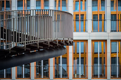Vertical Lines (*Capture the Moment* (back 4 September)) Tags: 2017 architektur art artwork bokeh f14 fenster kpmg kunst leicalenses leitzsummiluxm1475 leitzleica munich münchen olafureliasson sonya7m2 sonya7mii sonya7mark2 sonya7ii staircase stairs window windows bokehlicious