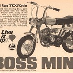 1970 Rupp TC-1 Cycles Advertisement Hot Rod Magazine May 1970 thumbnail