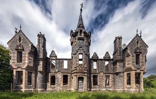 Dunalastair castle - Scotland
