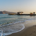 Agia Marina beach in Platanias, Chania