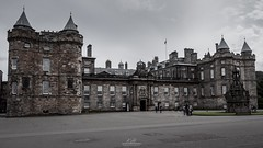 Holyrood Palace (Kai Hannah) Tags: photos pics picture pictures photographs photographed photographer photography photo panasonic panasoniclumix panasoniclumixg1 royal queen castle architectural architecture building brick clouds rain sun follow like britain uk scotland edinburgh palace holyrood holyroodpalace