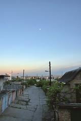 Vyshgorod, in the evening (Vadim Beldiy) Tags: ukraine landscape landschaft landscapesdreams bluesky sky skyline nature nikon nikon1v1 nikonone nikon1 nikkor10mmf28 vyzhgorod vyshgorod twilight urban urbex