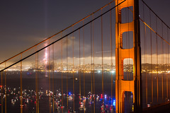 I've Got Your Picture (Thomas Hawk) Tags: 75thbirthdaygoldengatebridge america batteryspencer california goldengatebridge marin marinheadlands sanfrancisco usa unitedstates unitedstatesofamerica bridge fireworks millvalley us fav10 fav25 fav50 fav100