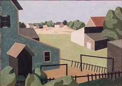 Cape Cod, 1926/27 (Jonathan Lurie) Tags: oil painting art museums canvas aic museum institute chicago cape cod niles spencer artinstitutechicago artinstituteofchicago artinstitute artmuseum artinmuseums capecod nilesspencer oilpainting oiloncanvas illinois unitedstates us
