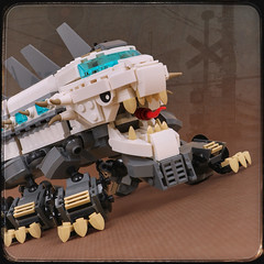 LEGO Zoombie Monster (TOKYO TAG TEAM) Tags: lego zoombiemonster kennethtang pieceofarttoys zombie train kaiju