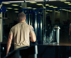 Determined (rubenb.hardwick) Tags: fitness gym nikon lifting weights d700