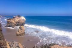 Rock formations - El Matador Beach (megmcabee) Tags: cliffs mothernature seaside coastal coast rocks blue sky beach elmatador malibu california
