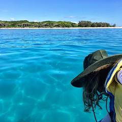 On the way to Lady Musgrave Island
