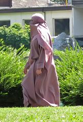 Niqab Girl (Warm Clothes Fetish) Tags: niqab hijab burka chador girl scarf