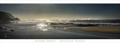 Storm Surge (caralan393) Tags: postcaed moruya beach storm wild surf waves wide