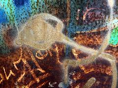 wabi sabi (Églantine) Tags: 3229 wabisabi colours rust couleurs rouille métal metal brantford