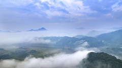 Misty Mountain (Johnnie Shene Photography(Thanks, 2Million+ Views)) Tags: fog foggy mountain mountainrange wideangle mist ridge top mound hill hilltop topofmountain topofhill korea asia asian korean travel destination attraction landmark local rural regional interesting awe wonder fulllength depthoffield sky skyline clouds cloudscape photography horizontal outdoor colourimage fragility freshness nopeople foregroundfocus adjustment morning day summer guksabong okjeongho jeongeup jeollabukdo tranquility trees green environmental landscape scenic scenery nature natural wild canon eos80d 80d sigma 1770mm f284 dc macro lens 국사봉 옥정호 풍경 안개 산등성이