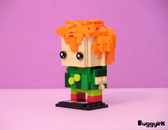 Drop Dead Fred Brickheadz side (buggyirk) Tags: bricksetbrickheadzcompetition brickset lego brickheadz moc afol drop dead fred snot face retro nostalgia phoebe cates rik mayall elizabeth lizzie cronin movie imaginary friend competition